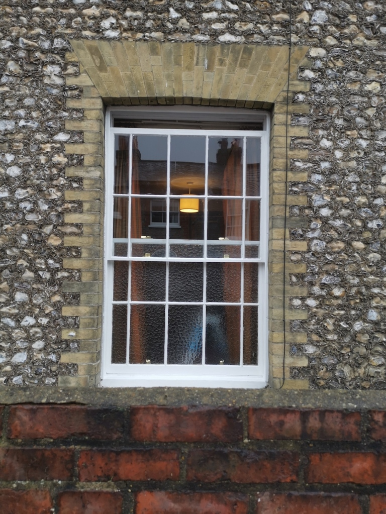 Finished renovated window in Southampton.